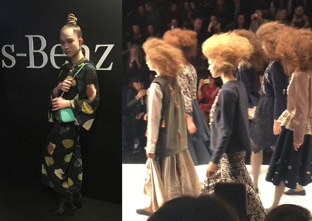 Саша Киселева - Mercedes-Benz Russian Fashion Week