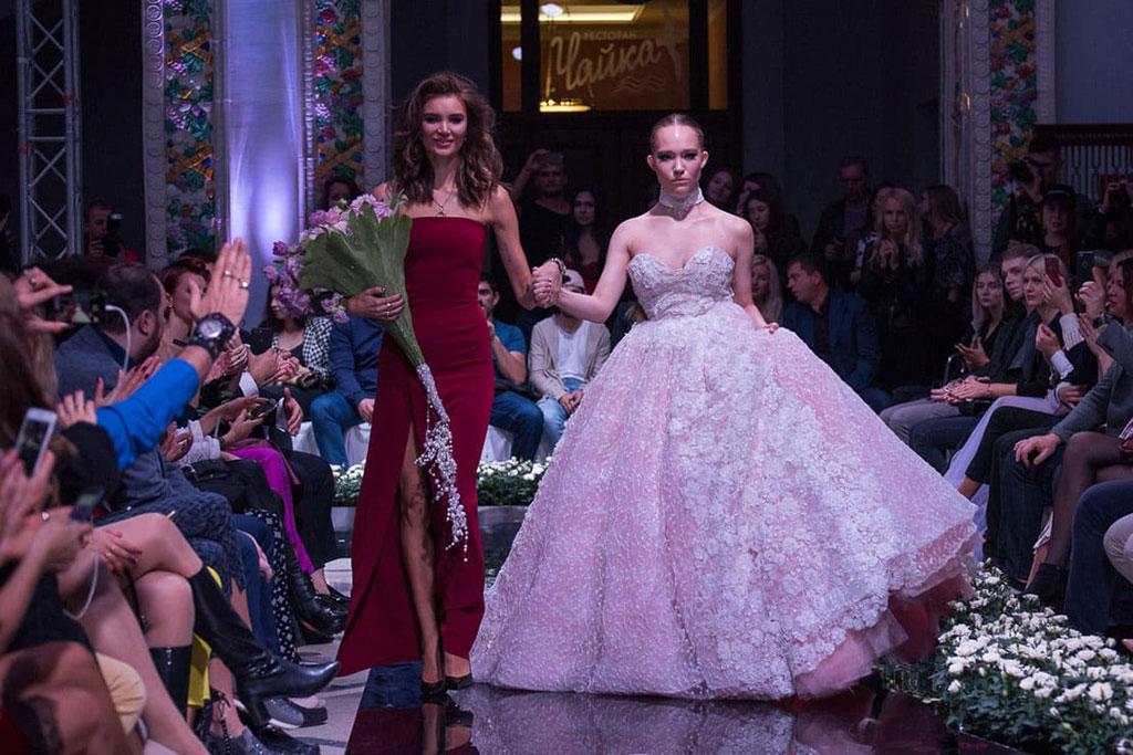 Александра Киселева на Неделе моды в Сочи