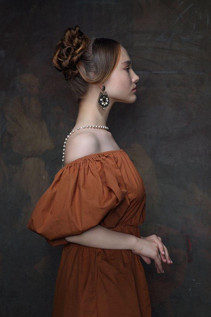 Актриса Александра Киселева в образе Княжны