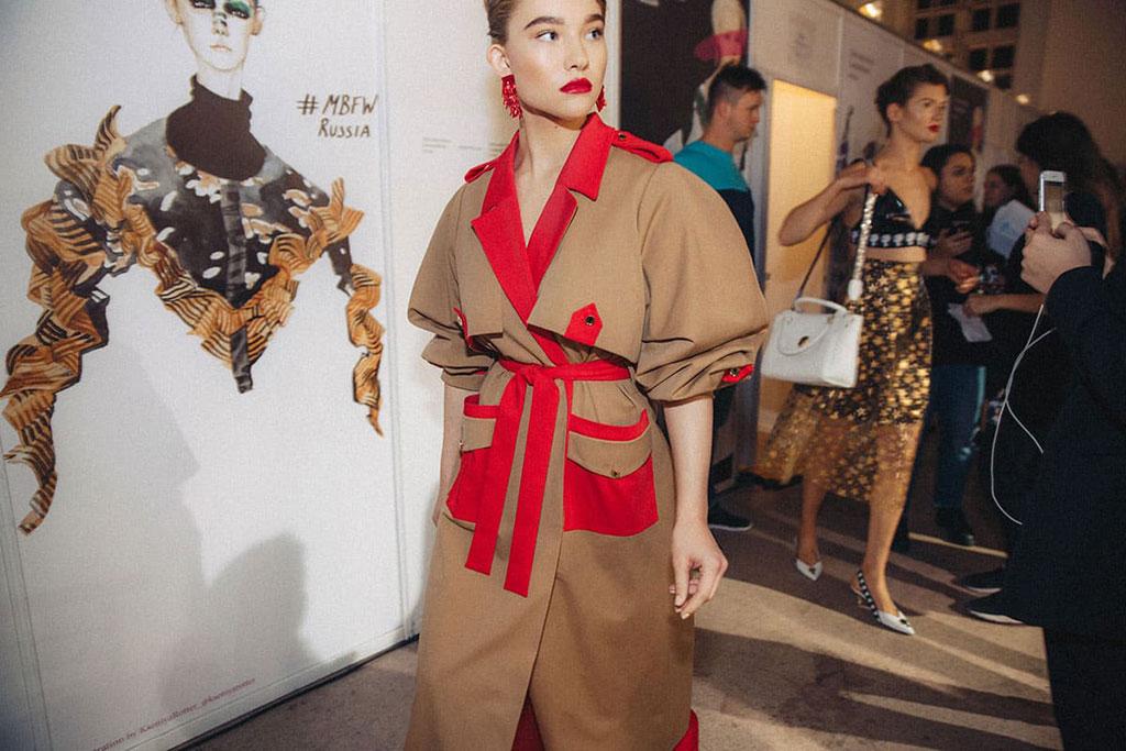 Александра Киселева - Mercedes-Benz Fashion Week