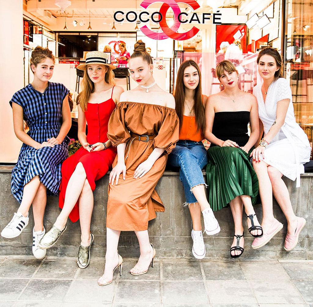 Александра Киселева - Chanel Coco Cafe