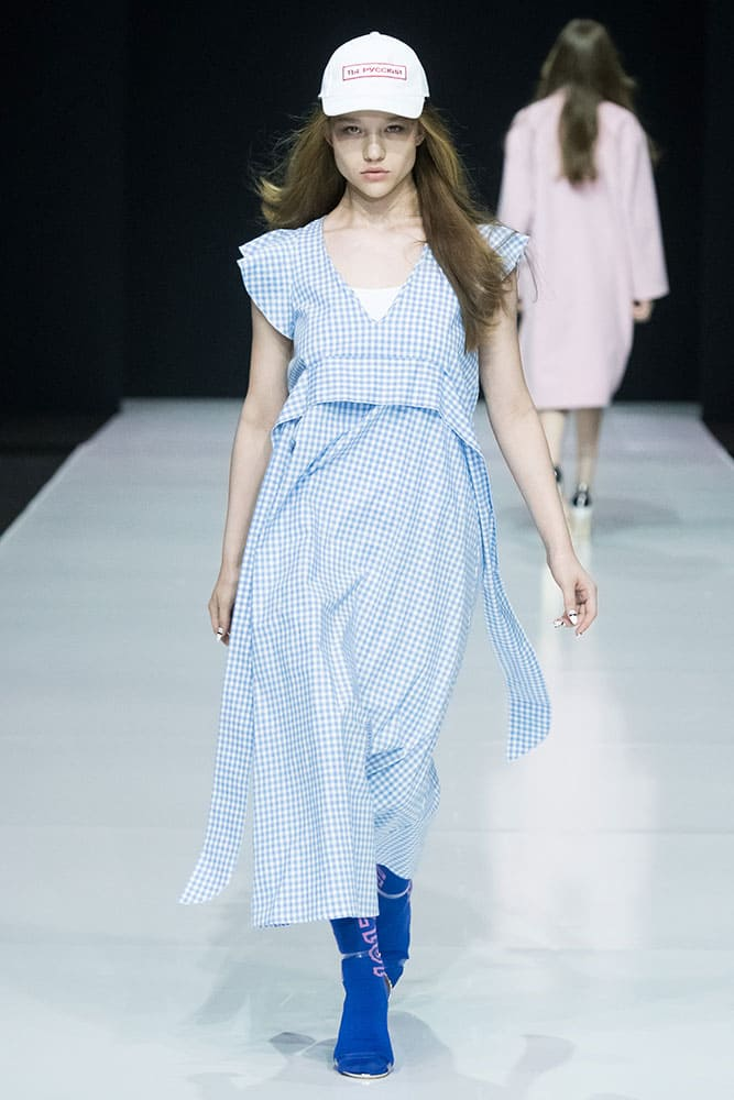 Саша Киселева -  Mercedes-Benz Fashion Week