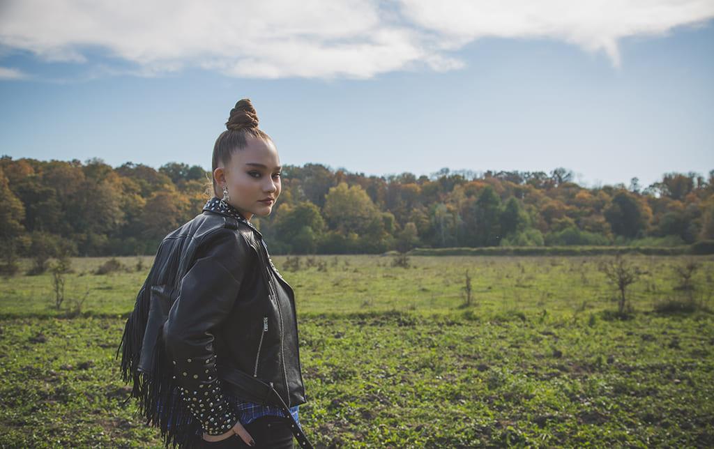Александра Киселева - Съемки сериала Погнали