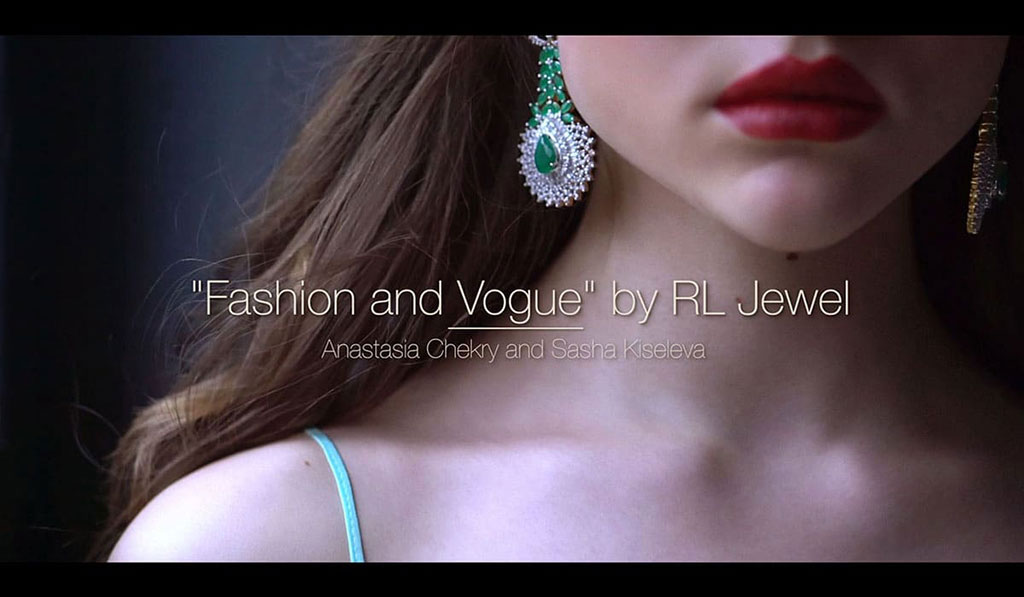 Aleksandra Kiseleva - Fashion and Vogue by RL Jewel