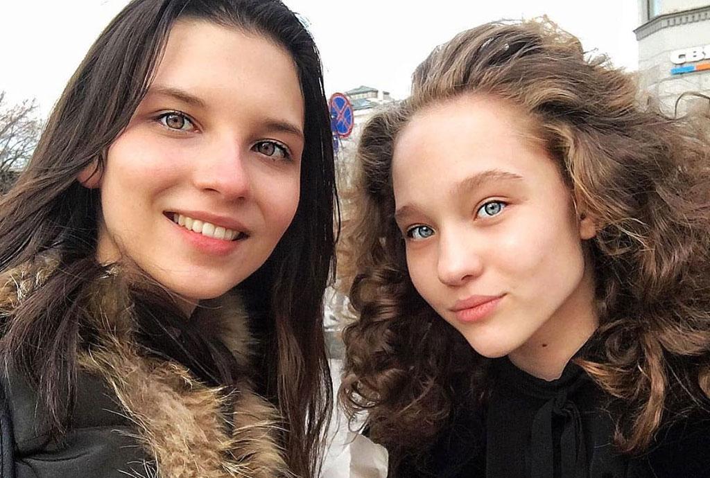 Anastasia Chekry and Aleksandra Kiseleva