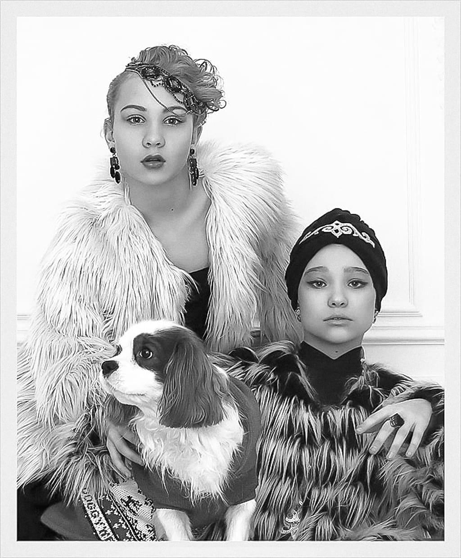 Саша Киселева и Саша Орехова - The House of Xclusive Lanvin