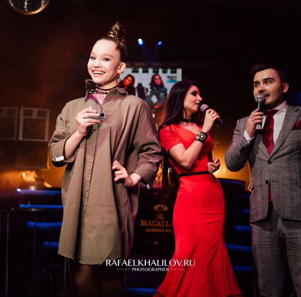 Саша Киселева - вручение премии Танцор года 2016