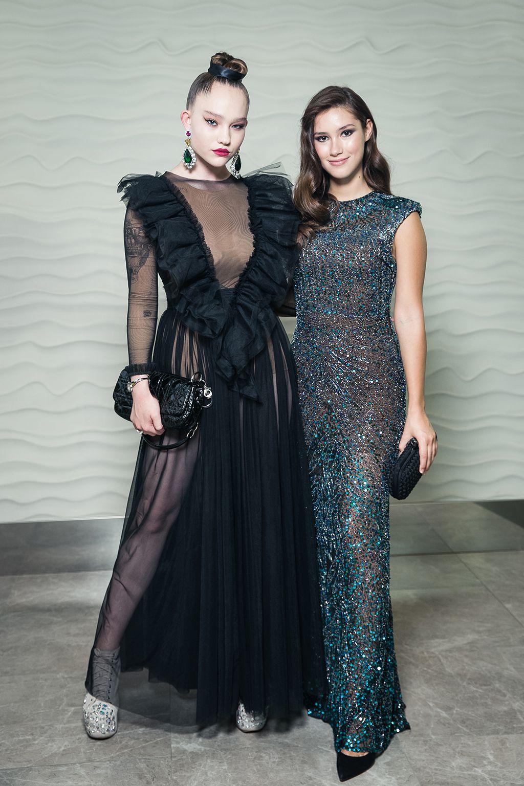 Александра Киселева и Дина Немцова | Fashion People Awards 2019