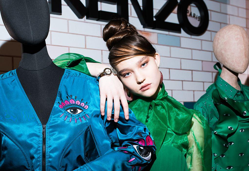 Александра Киселева | Kenzo World