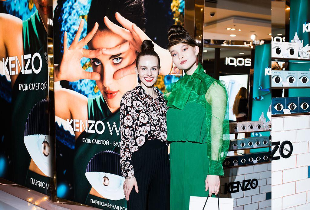 Александра Киселева и Ева Полянская | Kenzo World